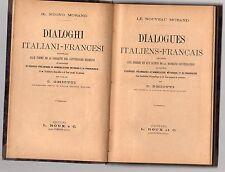 dialoghi italiano francese-dialogues italiens-francais - le noveau morand