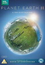 David Attenborough Planet Earth 2 II Complete BBC Series DVD R4