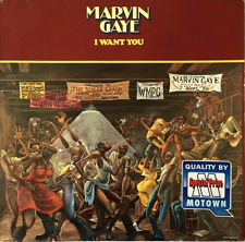 MARVIN GAYE - I Want You (LP) (VG-/G++)