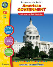 American Government, Grades 5-8 Social Studies - DOWNLOAD