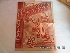 PARTITION L'ALBUM MUSICAL 1938 C'EST LA VALSE A TOUT LE MONDE CH. TRENET   H57