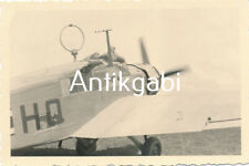 Foto WK 2 Militärflugzeug mit Piloten B 1.15