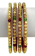 Traditional Goldplated Kada Bracelet Bangle Indian Jewelry IRJMBG-BSG8B-PAR