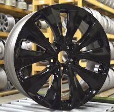 """19"""" Acura MDX 14 15 16 Factory OEM Rim Wheel 71820 Gloss Black Full Set"""