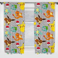 Pokemon Pikatchu Pokemons Catch Gardinen Vorhänge Kinder Kids 183 x 168 cm neu