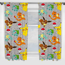 Pokémon Pikatchu Pokemons Catch Rideaux Tentures Enfants 183 X 168 Cm Neuf
