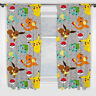 Pokemon Pikatchu Pokemons Catch Gardinen Vorhänge Kinder Kids 183 x 168 cm neu