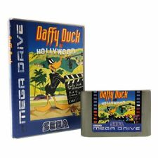 Daffy Duck in Hollywood Boxed Mega Drive Game USED