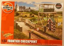 Airfix 1/32 Scale WWII Frontier Checkpoint Guard Tower Bridge Gate Diorama DDay