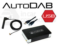 Universal DAB adapter for any car radio with USB port AUTODAB Digital Stereo