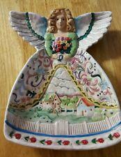 Jim Shore Angels-Four Seasons Angel Plate
