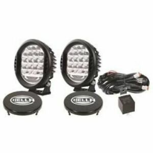 Hella 358117171 ValueFit Round LED Driving Light, Clear Lens - 22.5 Watts NEW