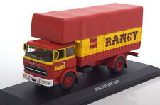 CAMION BACHE UNIC FIAT 619 1979 CIRQUE RANCY RED YELLOW IXO TRU023 1/43
