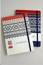 Marius Norway Journal Notebook, Choose Blue or White, NEW