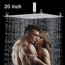 20 Inch Rain Shower Head Stainless Steel Shower Head Ultra-Thin Chrome Top Spray