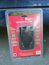 Whistler XTR 543 Laser-Radar Detector NEW SEALED Battery Operated #586358