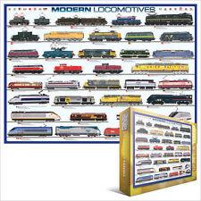 Eg60000091 - Eurographics Puzzle 1000 pezzi - Modern Locomotive