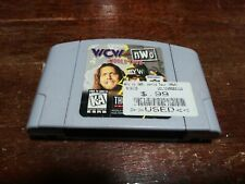 WCW vs. NWO World Tour Nintendo 64 N64 Authentic Pins Cleaned and Tested