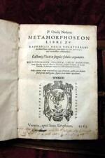 METAMORPHOSEON LIBRI XV. RAPHAELIS REGII VOLATERRANI EXPLANATIO.IACOBI MICYLLI A