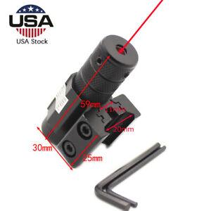 Tactical Red Dot Laser Sight Scope Mount Archery Bow Pistol Crossbow Slingshot