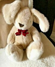 """St Michael Bunny Rabbit Plush Soft Toy 10"""" Bow Tie Marks And Spencer VGC"""