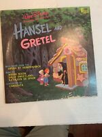 Walt Disney Hansel and Gretel Movie Songs LP 1964 VG