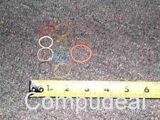 1 Lot 10 Asst. Rubber bands: Fixes most DVD CDROM drive open/ Close problems