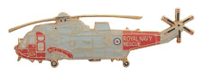 Westland Sea King Helicopter Royal Navy RN Search & Rescue SAR Pin Badge