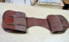 """Leather Western Saddlebags Brown 13 X 13"""""""