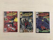 The Amazing Spider-Man - comic lot - # 291, 303 , 305 - Todd Mcfarlane - 1980s