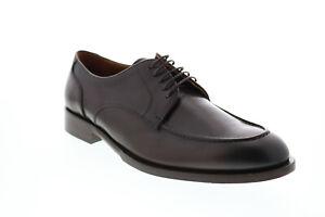 Bruno Magli Andrea BM600731 Mens Brown Plain Toe Oxfords & Lace Ups Shoes