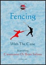 2 Dvd Set Fencing with the Cane Self Defense Olympic Fencing - Brian Salinas
