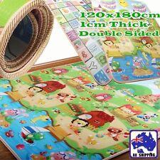 1.2mx1.8m 10mm Thick Baby Play Mat Floor Rug Picnic Cushion Crawling OCUSH2128