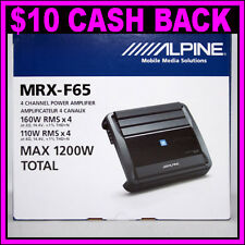 Alpine MRX-F65 X-Power 4/3/2 Channel 1200W Max ClassD Amplifier Car Amp