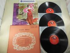 VANESSA: LIVING STEREO Box Set LSC 6138- 3 X LP: BARBER, STEBER, GEDDA  NM RARE