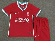 20/21 Liverpool Football Soccer Kit Kids Boys Jersey Strip Sports Outfit
