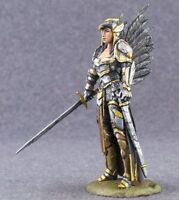 Queen of Crows 1/32 scale Metal Female Figure Painted Toy Soldiers 54mm Woman