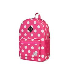 Herschel Youth Supply Heritage XL Backpack Polka Dot Fandango Pink One Size Kids