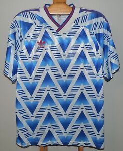 Czechoslovakia Vtg Adidas Football Jersey Shirt Trikot 1993 Match Worn