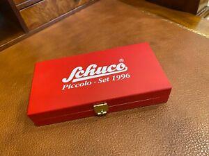 Schuco Piccolo | Piccolo Set 1996 w/ 3 Cars | Genuine Wooden Box | # SHU00107