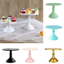 25cm Round Cake Display Stand Wedding Birthday Dessert Cupcake Tray Rack Decor