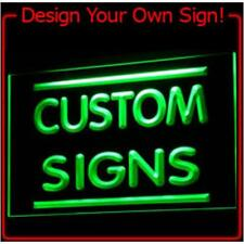 """Custom Led Neon 12"""" x 8"""" Send Me Picture Of Your Design Led Neon Sign"""