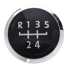 Black 5 Speed Gear Knob Emblem Badge Cap For VW Transporter T5/T5.1 Replacement