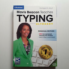 Mavis Beacon Teaches Typing PC MAC CD-ROM - FAST SHIPPING / FIRST CLASS