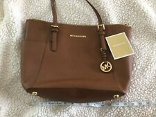 Michael Kors Brown Leather Purse Used Once