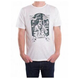 Kytone Garage T-Shirt - Vintage White - Size Small
