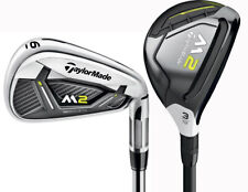 TaylorMade M2 2017 Iron Set 4H, 5H, 6-PW Right Handed Regular Flex Steel New