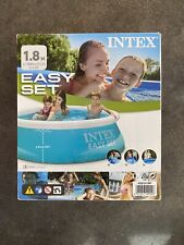 Intex Easy Set Above Ground Swimming Pool 6 ft X 20 in 28101Np