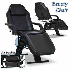 Salon Barber Chair Tattoo Chairs Massage Table Folding Facial Bed Beauty W/Tray