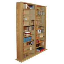 Bibliothèques en chêne pour le salon